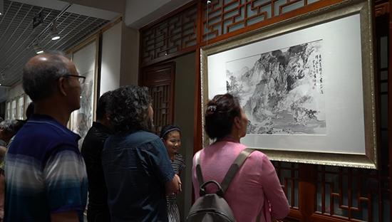 大风和畅——施云翔山水画展在京举行